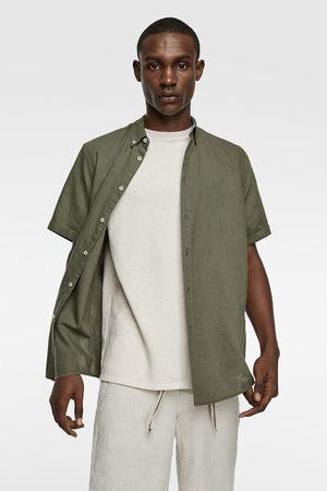 Zara Short sleeve rustic shirt