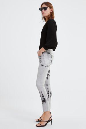 Zara Jeans zw premium skinny inox black splash