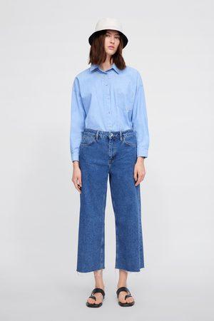Zara Z1975 basic culotte jeans