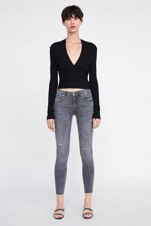 Zara Zw premium skinny jeans inox