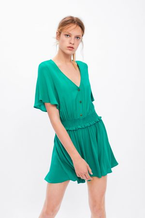 Zara Playsuit with elastic trims