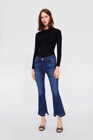 Zara Z1975 mini flared jeans
