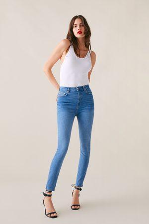 Zara Jeans zw premium high waist skinny sunrise