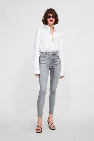 Zara Jeans zw premium '80s high waist silver lake
