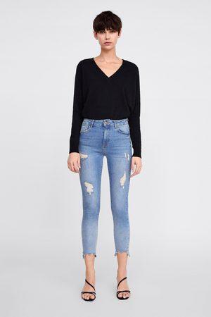 Zara Hi-rise skinny z1975 jeans