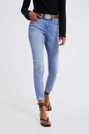 Zara Z1975 frayed hem skinny jeans