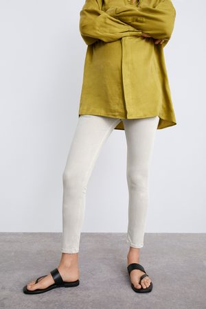 Zara Zw premium skinny mommy fit jeans