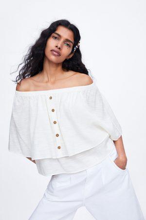 Zara Cape sleeve top
