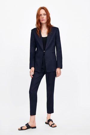 Zara High rise trousers with belt