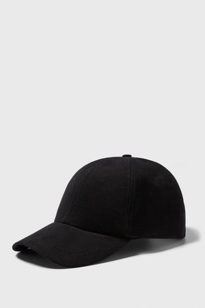 Zara Miehet Lakit - Textured twill cap
