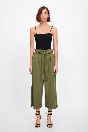 Zara Paperbag culottes