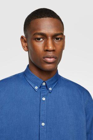Zara Textured oxford shirt