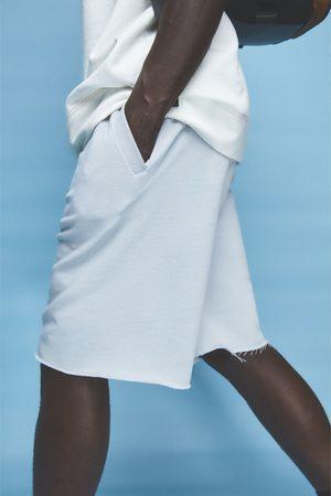 Zara Miehet Bermuda-shortsit - Basic joggers bermuda shorts