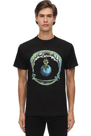 PSYCHWORLD Globo Cotton Jersey T-shirt