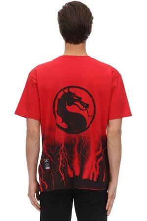 MJB - MARC JACQUES BURTON Miehet T-paidat - Mortal Kombat Festival Cracks T-shirt