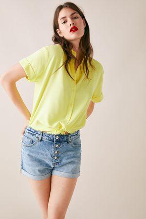 Zara Zw1975 high waist bermuda shorts