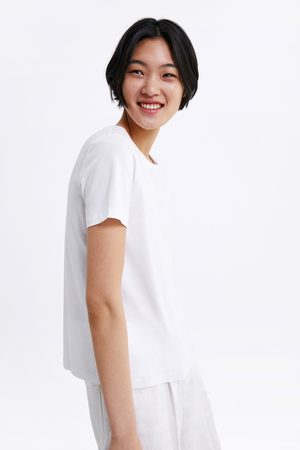 Zara T-shirt with seam detail