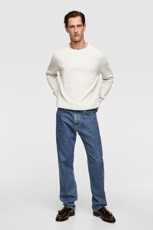 Zara Miehet Neuleet - Purl knit sweater