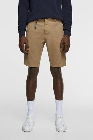 Zara Miehet Bermuda-shortsit - Textured bermuda shorts