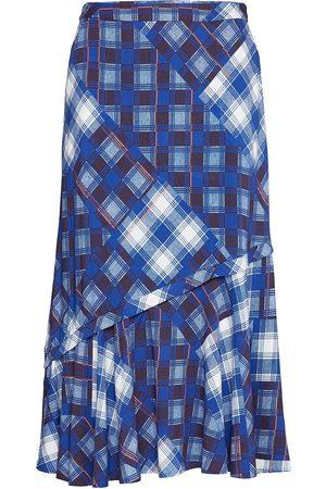 Gestuz Luannegz Skirt Ma19 Polvipituinen Hame Sininen