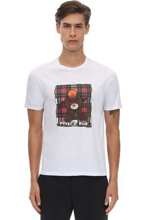Neil Barrett Printed Cotton Jersey T-shirt