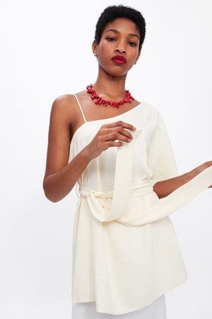 Zara Belted asymmetric top