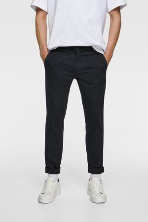 Zara Skinny chino trousers