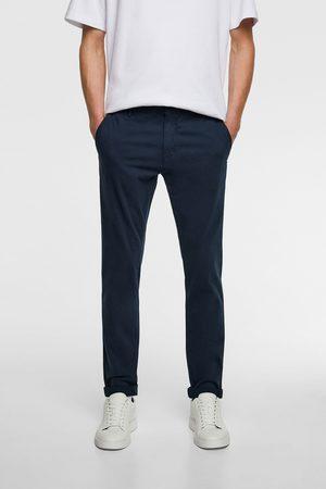 Zara Miehet Chinot - Skinny chino trousers
