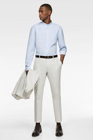 Zara Easy care stand-up collar shirt