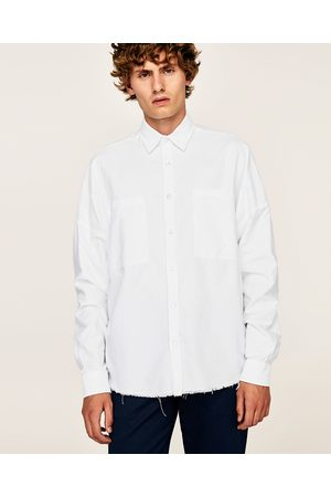 Zara OVERSIZED OXFORD SHIRT