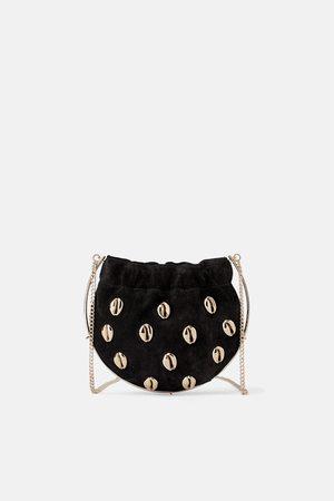 Zara Naiset Olkalaukut - Mini crossbody bag with shells