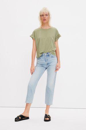 Zara Frilled t-shirt