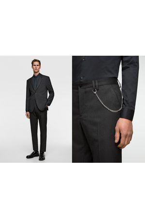 Zara Miehet Housut - Pinstripe suit trousers