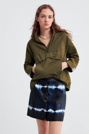 Zara Tie-dye mini skirt