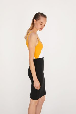 Zara Naiset Kynämekot - Pencil dress with straps