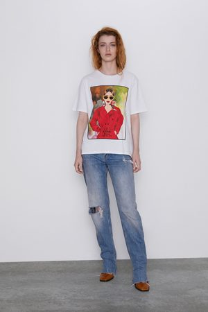 Zara T-shirt with front print
