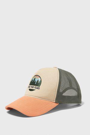 Zara Miehet Lippikset - Combined cap with mesh