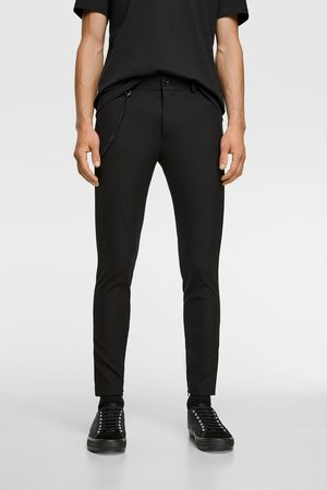 Zara Super skinny trousers with chain