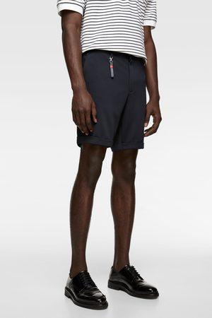 Zara Comfort knit 4-way bermuda shorts