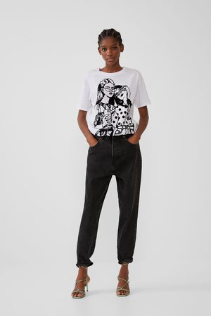 Zara Naiset T-paidat - T-shirt with front print