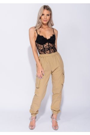 Parisian Naiset Reisitaskuhousut - Waist Cargo Side Pocket Trouser In