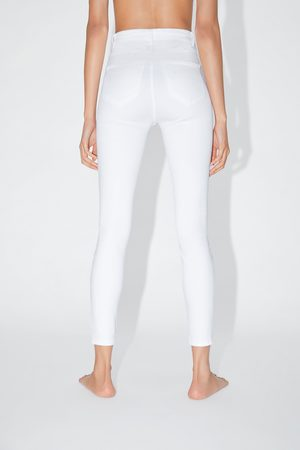 Zara Hi-rise super stretch jeggings
