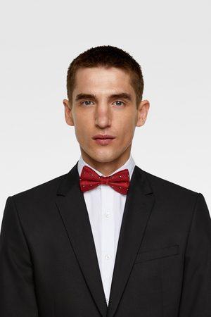 Zara Floral jacquard bow tie