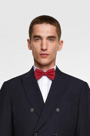 Zara Miehet Rusetit - Floral jacquard bow tie