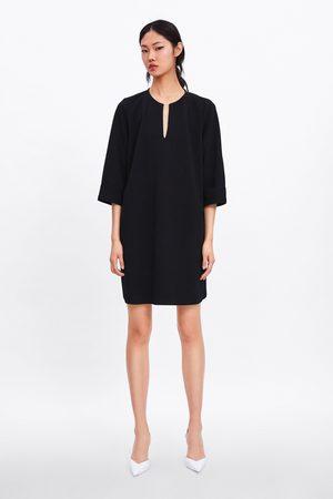 Zara Short textured dress