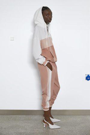 Zara Pouch pocket tracksuit jacket