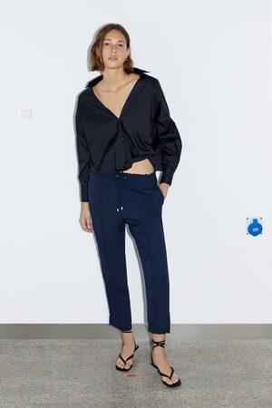 Zara Stretch waist trousers