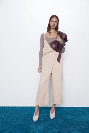 Zara Strappy wrap playsuit