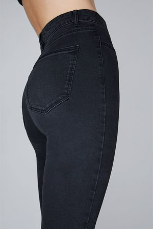 Zara Ripped hi-rise super stretch jeggings