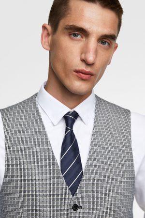 Zara 4-way check waistcoat